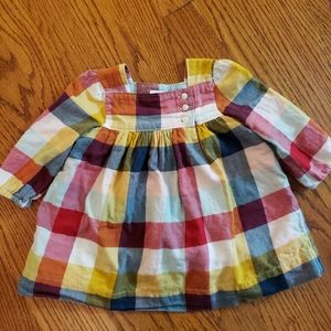 VHTF Baby Gap Plaid Dress